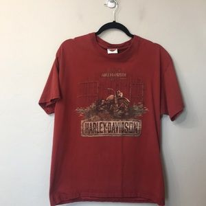 Men's Harley Davidson T-shirt size large